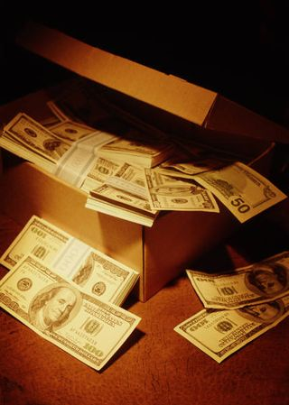 Cash in Box