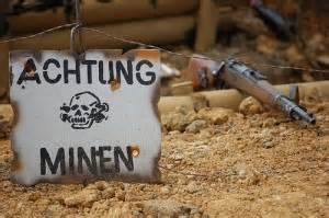 Minefield Warning