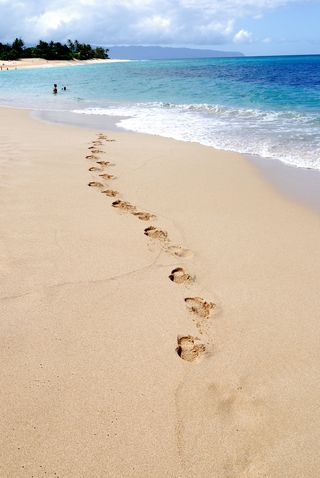 Beach - Footprints