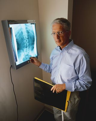 Doc with Chest Xray