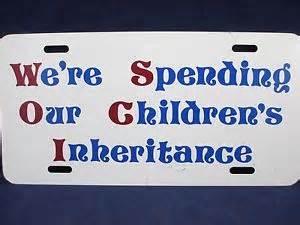 Spending Childrens Inheritance