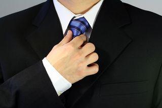 Coat n Tie No Face