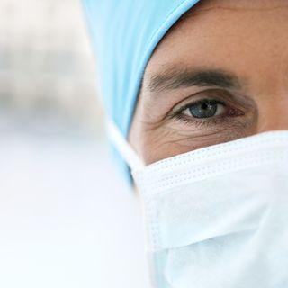 Doc with Scrub Mask
