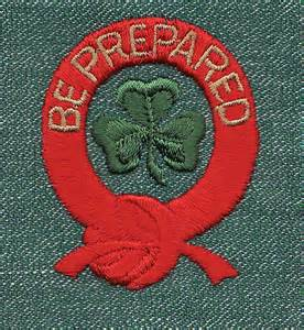 Be Prepared Badge