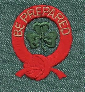 Be Prepared Badge