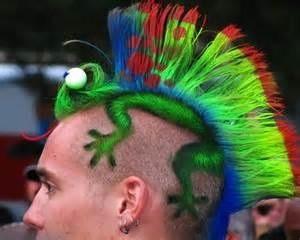 Colored Mohawk
